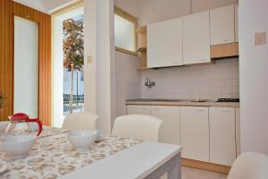 Kuchyň nebo kuchyňský kout v ubytování Residenza Valcris
