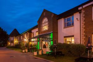 A porch or other outdoor area at Holiday Inn Ipswich Orwell