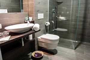 Ein Badezimmer in der Unterkunft Wenceslas Square Terraces