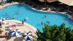 A view of the pool at Lemas Suite Hotel by Kulabey or nearby