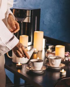 Coffee and tea-making facilities at Barcelona Spa-Hotel