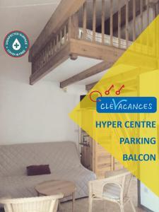Un ou plusieurs lits superposés dans un hébergement de l'établissement Val des thermes - Hyper-centre AX
