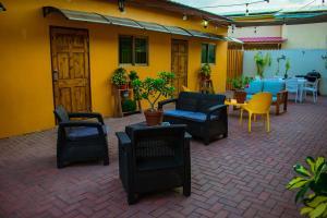 O lounge ou bar de Aruba Smart Apartments