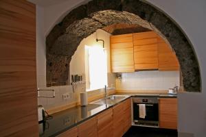 A cozinha ou cozinha compacta de Casa de Almagreira