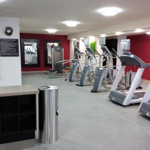 The fitness center and/or fitness facilities at Homewood Suites by Hilton Hamilton