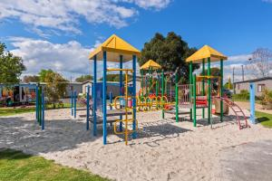 Children's play area at Discovery Parks - Melbourne