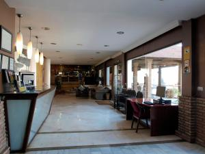 Un restaurante o sitio para comer en Los Galanes