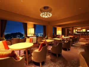廣島王子酒店酒吧或休息區