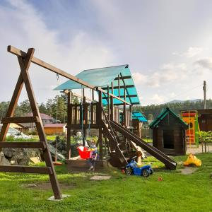 Children's play area at Manor Altyn Torbok