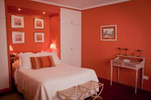 A bed or beds in a room at Buenos Aires Apart