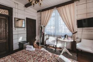 Гостиная зона в Бутик Отель Маруся