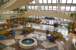 The lobby or reception area at Pharaoh Azur Resort
