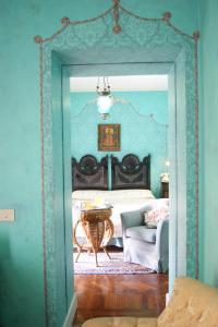 Letto o letti in una camera di Hotel Villa Paradiso dell'Etna