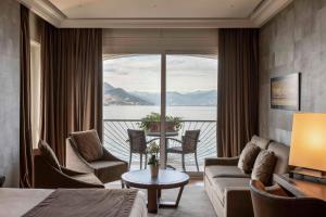 A seating area at Hotel La Palma