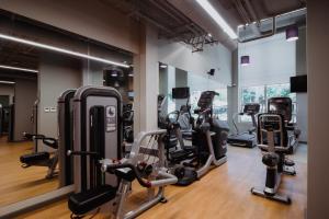 Фитнес-центр и/или тренажеры в Звездный Отель WELLNESS & SPA