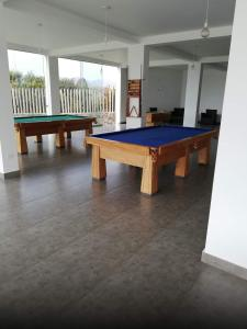 A billiards table at Asiasoleil