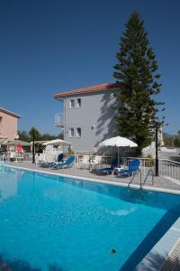 The swimming pool at or near Tsolakis Studios & Apartments