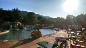 The swimming pool at or near Camping des Alberes