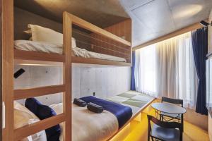 サクラクロスホテル新宿東アネックスにある二段ベッド