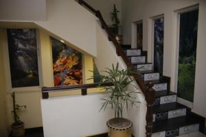 The lobby or reception area at Al Burhan Express Hotel