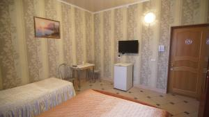 Телевизор и/или развлекательный центр в Alladin Hotel