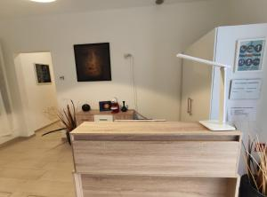 A kitchen or kitchenette at San Polo Star