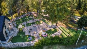 A bird's-eye view of Plitvice Holiday Resort