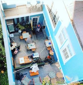 Un restaurante o sitio para comer en Casa Nomade Hotel Boutique
