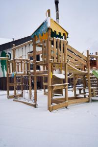 Green Landiya during the winter