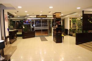 El vestíbulo o zona de recepción de Silken Insitu Eurotel Andorra