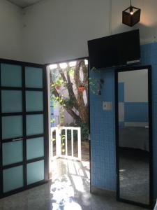 TV/trung tâm giải trí tại Hani House