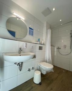 Ein Badezimmer in der Unterkunft Motel Espenhof