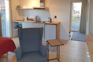 A kitchen or kitchenette at HH&S Gåxsjö