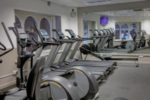 The fitness center and/or fitness facilities at The Regency Hotel