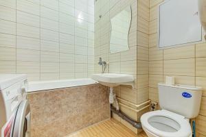 Ванная комната в Apartment Hanaka Jubileinyi 78