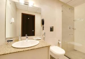 A bathroom at The Fern Denzong Hotel & Spa Gangtok, Sikkim