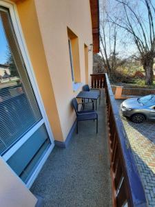 Balkón alebo terasa v ubytovaní Apartmany Star