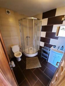 Kúpeľňa v ubytovaní Apartmany Star