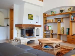 A seating area at Comfortable Villa in Coux France With Private Swimming pool