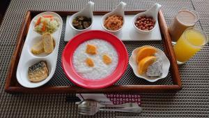 米樂民宿(精品   度假   停車)供旅客選擇的早餐選項
