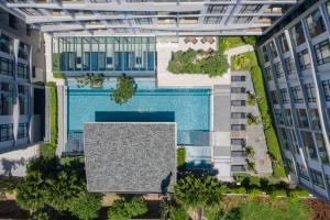 A view of the pool at Arden Hotel and Residence by At Mind or nearby