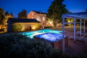 The swimming pool at or near Residenza La Canonica