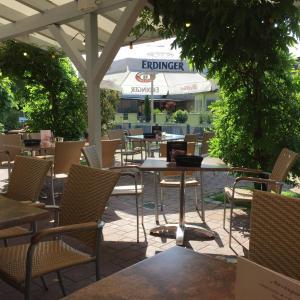 מסעדה או מקום אחר לאכול בו ב-Gasthof Altes Rathaus garni
