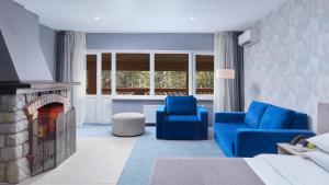 Гостиная зона в Кантри Резорт Отель
