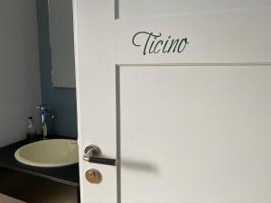 Ein Badezimmer in der Unterkunft Bed and Breakfast Hopfengrün