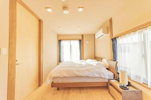 YUKISATO Lodgeにあるベッド