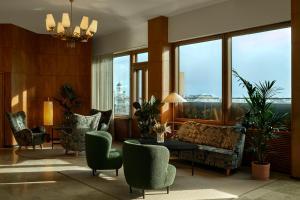 Zona de estar de Original Sokos Hotel Vaakuna Helsinki