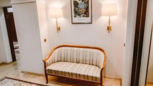 A seating area at Smart Hotel KDO Novosibirsk