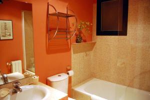 Un baño de Villa La Roca