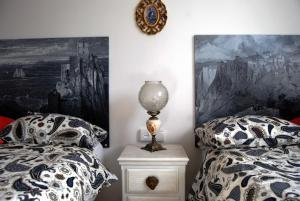 Cama o camas de una habitación en Villa La Roca